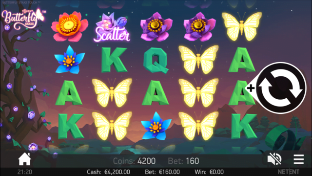 Butterfly Staxx Slot - 624978