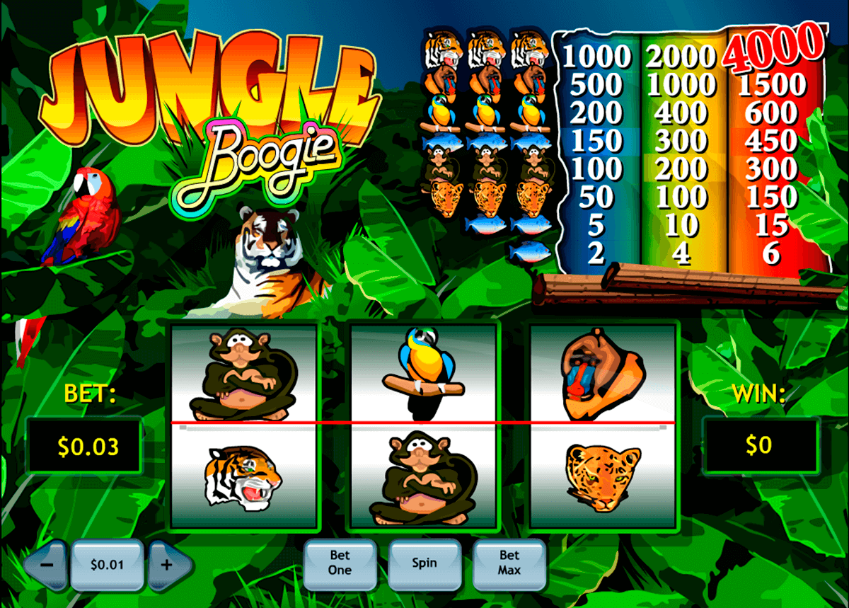 Jungle Boogie Slot - 604105