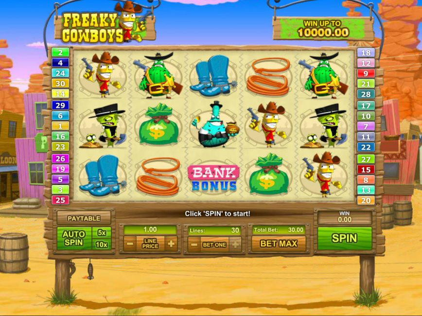 Cowboys Slot Bonus - 775105