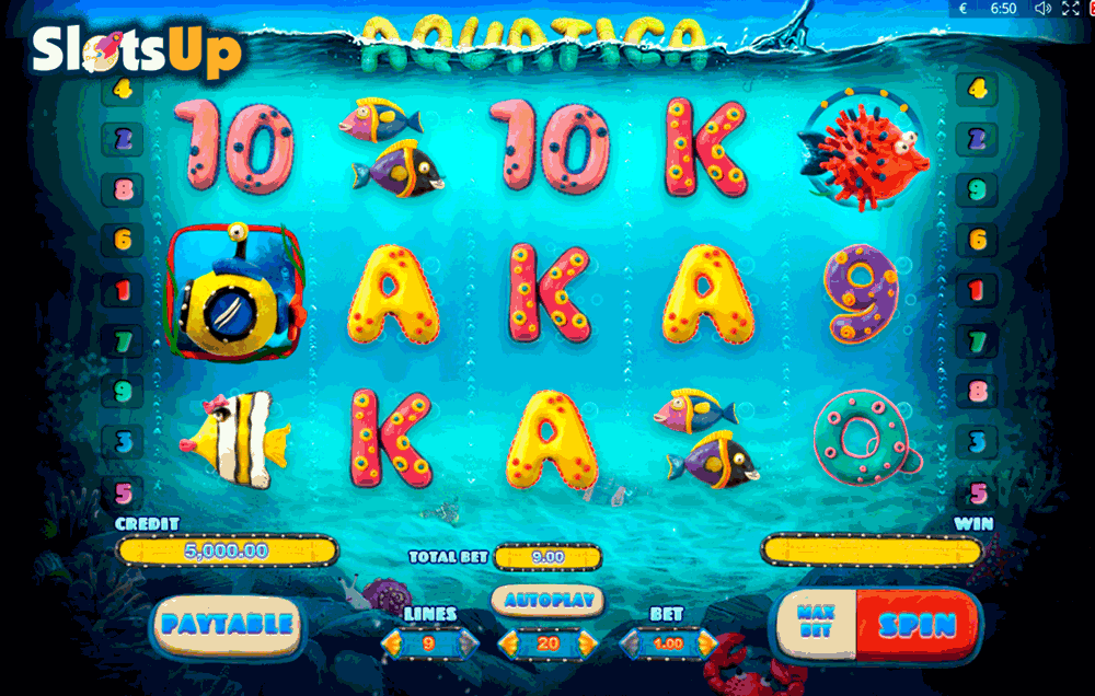 Wacky Waters Slot - 863833