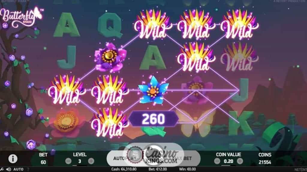 Butterfly Staxx Slot - 113109