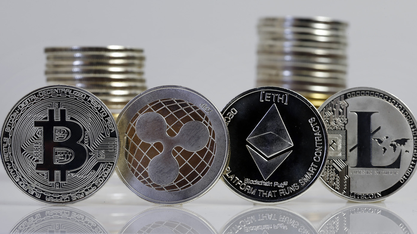Cryptocurrency Coin Trusted - 759852