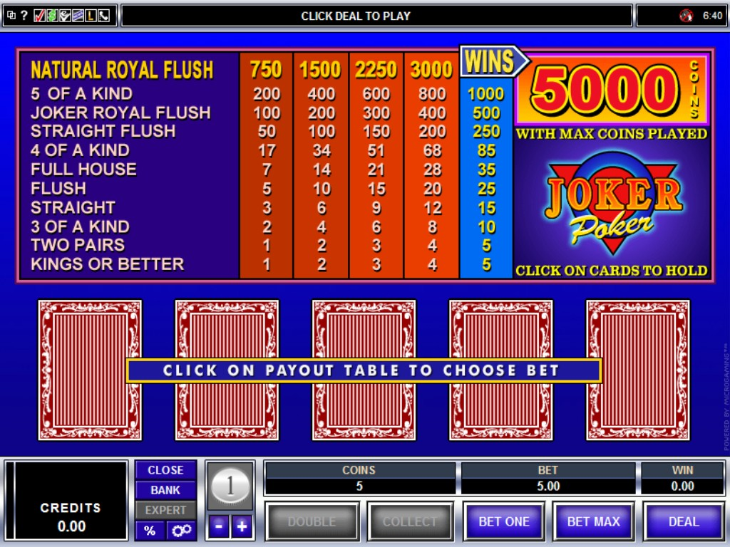 Video Poker Pay - 806516