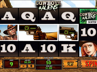Cowboys Slot Bonus - 29289