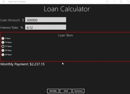 Payout Calculator - 134080