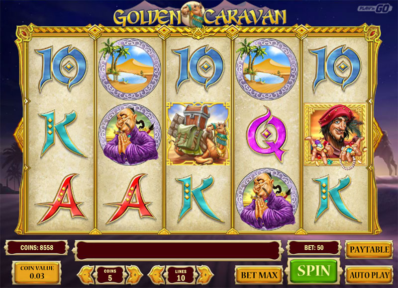 Golden Caravan Slot - 921714