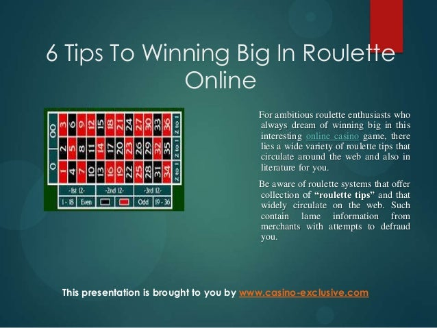 Roulette Strategy to - 12103